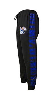 Twin Vision Activewear Memphis Tigers NCAA Men s Jogger Pant  Black   XX-Large