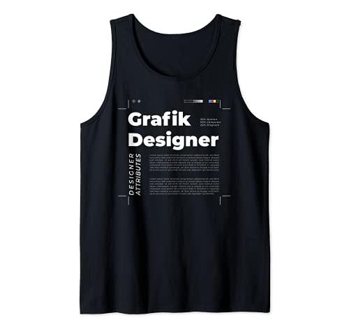 Grafikdesigner Grafiker Kommunikationsdesign Mediendesign Tank Top