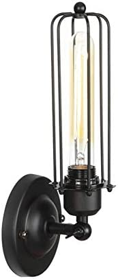 Retro Industrial Solid Wood Factory outlet Wall Lamp Rural e26 E27 Regular store Lof American
