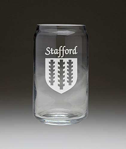 Stafford Irish Inventory cleanup selling sale Coat Lowest price challenge of Arms Beer 4 Glass Can Set -