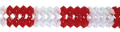 Riethmüller - 2967 - Décoration de Fête - Guirlande - Couleur Rouge et Blanc