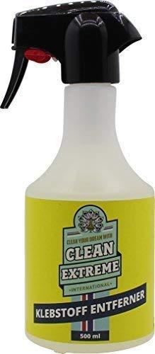 Cleanextreme Disolventes de Adhesivo 500ML - para Retirar Von Klebstoff-Resten, Sellador, Aceite de Silicona