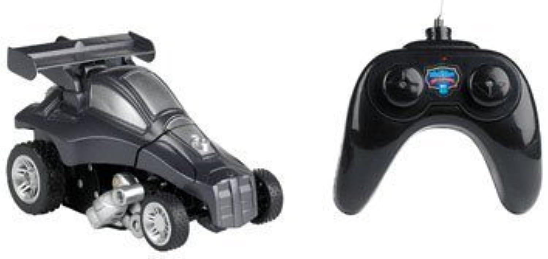 Blau Hat Toy Company Transforming Radio Controlled Car schwarz, Silber 9 V Battery (Included) by Merchsource