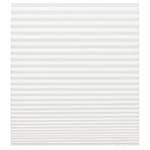 2 XIKEA Faltjalousie 'SCHOTTIS' Plissee 190 cm x 90 cm - 100% Polyester - WEIß