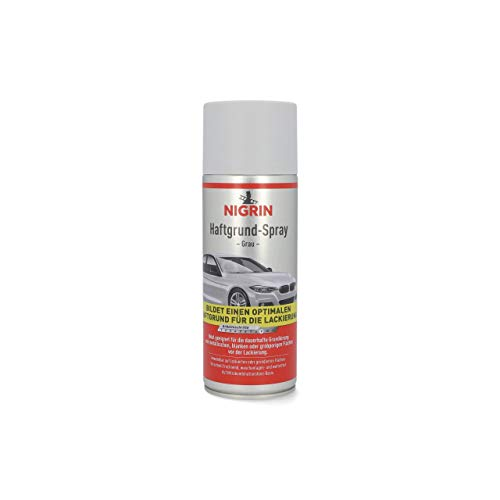 NIGRIN 74115 Haftgrund-Spray , Grau, 400 ml