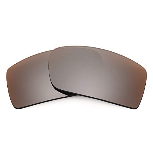 Revant Lentes de Repuesto Compatibles con Gafas de Sol Electric EC-DC, No Polarizados, Bronce MirrorShield