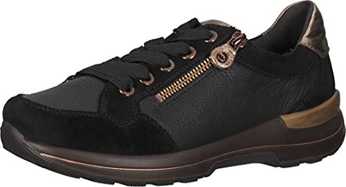ara Damskie buty sportowe NARA 1224510, czarny - Czarny Moro - 42 EU Weit
