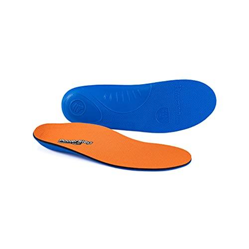 Powerstep Höhepunkt, niedrig (Pinnacle Low), Blau und Orange, M 11-11.5