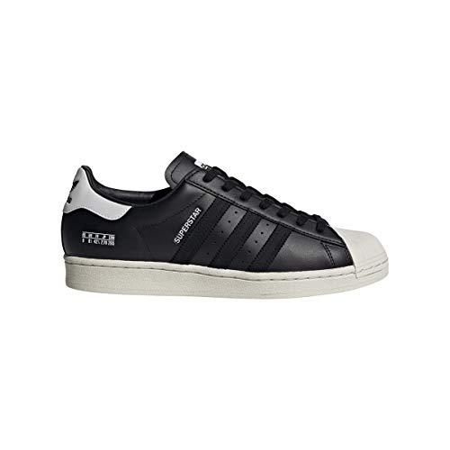 adidas Superstar (czarny/biały), czarny - czarny - 43 1/3 EU