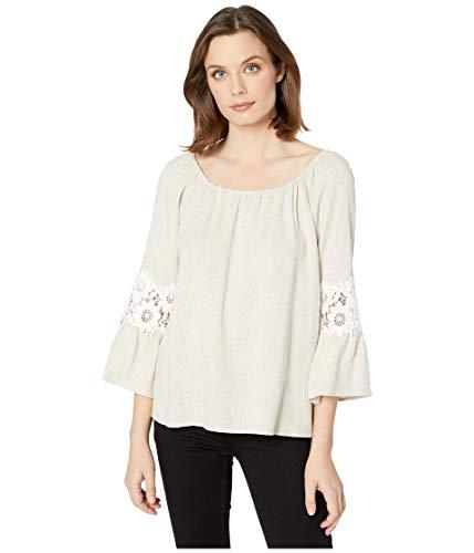 Karen Kane Braided Belk Shirtdress Natural XL