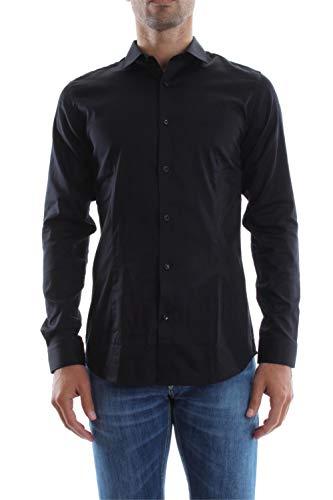 Jack & Jones 12097662 - Chemise habillée - Taille normale - Manches longues - Homme, Noir (Black/Super Slim), XX-Large