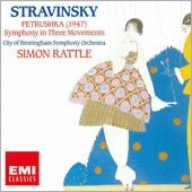ストラヴィンスキー:バレエ「ペトルーシュカ」、3楽章の交響曲