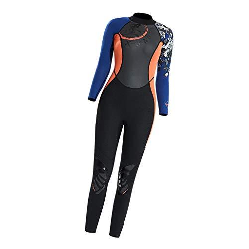 CUTICATE Full Body Dive Wetsuit Sports Rash Guard for Men Women, UV Protection Long Sleeve One Piece Swimwear for Snorkeling Sailing Jetski Canoe Swimming - L