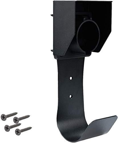 Maxgreen - Soporte de pared para conector de muelle, soporte de boquilla con tornillos para SAE J1772 EVSE, soporte de cargador de vehículo eléctrico EV