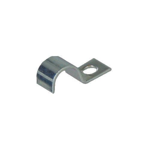 10 Kabelschellen nach DIN 72571, für DRM 10mm, mit Loch 4,8mm