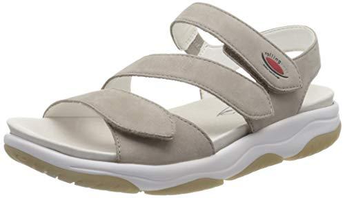 Gabor Shoes Damen Rollingsoft Riemchensandalen, Beige (Leinen 33), 40 EU