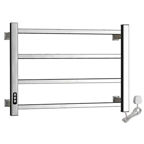 Review AEEHFENG Heated Towel Rack with Built-in Timer,Towel Warmer Wall-Mounted,Hotel Home Bathroom ...