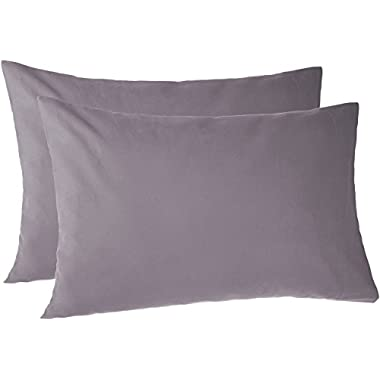 Pinzon 170 Gram Flannel Pillowcases - Standard, Graphite