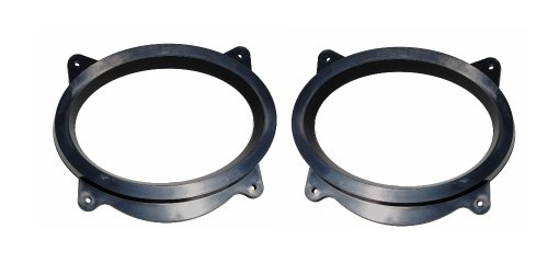 Custom Install Parts 6x9' Aftermarket Front Door Speaker Adapter Compatible with Lexus & Toyota