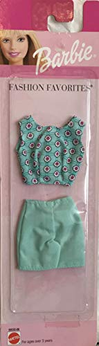 Barbie Fashion Favorites Fashions – Top & Pantalones cortos (1996 Arcotoys, Mattel)