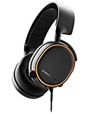 SteelSeries Arctis 5, Gaming Headset, RGB Illumination, DTS Headphone: X v2.0 Surround for PC and PlayStation 4, Black