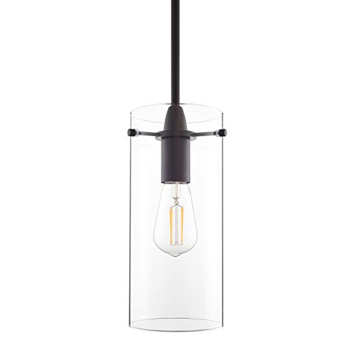 Black Pendant Light - Modern Effimero Mini Pendant Lighting...