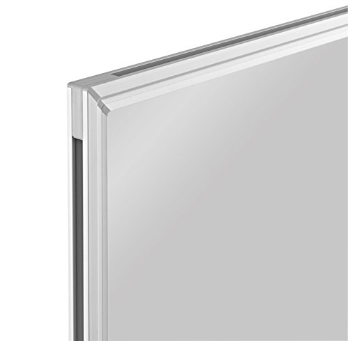 magnetoplan Whiteboard SP 120 x 90 cm, in weiteren Größen auswählbar, mit speziallackierter Oberfläche, Metallrückwand, inklusive Befestigungsmaterial - 3