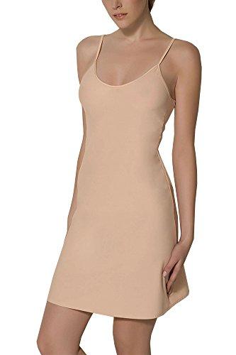 BALI Lingerie - Damen Kurz Unterkleid - 1010 (XL, Beige)