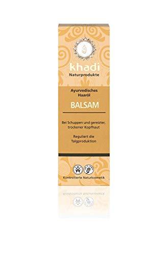 Khadi Huile de baume capillaire anti-pelliculaire Irritation 100 ml 4 unités 500 g