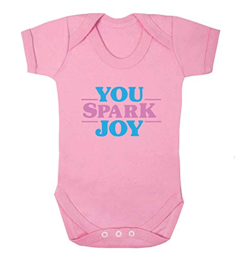 Flox Creative Baby Weste You Spark Joy Gr. Neugeboren, Hellrosa