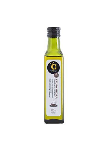 Casalbert Aceite De Oliva Virgen Extra Con Trufa Negra. Aceite De Oliva Español Aromatizado Con Trufa Negra. Botella De Vidrio De 250 Ml