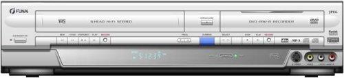 Funai DRV A 3635 DVD-Rekorder / Video-Rekorder Kombination Silber