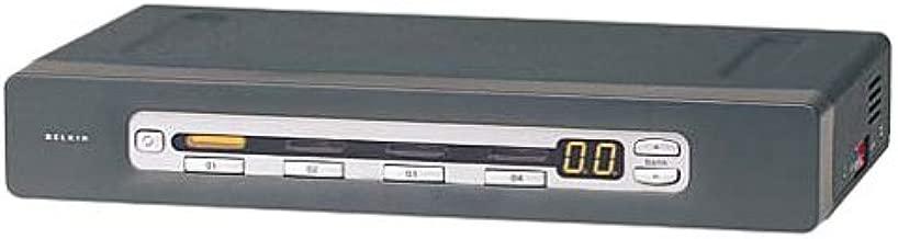 Belkin F1DA104T Omniview 4-Port Pro2 OSD PS2/USB Opt Rack Kit/1u KVM Switch