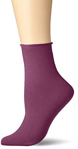 KUNERT Damen Sensual Cotton Socken, Violett (Purple Pink 5650), (Herstellergröße: 39/42)