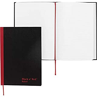 Black n' Red Casebound Notebook, Ruled, 8.25 x 5.875 Inches, 96 Pages (192 Sides) (E66857) (B000JCPP9A) | Amazon price tracker / tracking, Amazon price history charts, Amazon price watches, Amazon price drop alerts