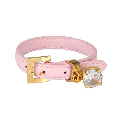 Leather Bangle Bracelet for Woman Man CZ Accessory Adjustable Watch Belt Wristband Luxury Brand Female Male Sport Jewellery Gift CHINA Grey