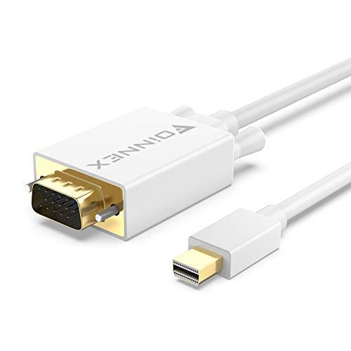 FOINNEX Adaptador Mini Displayport a VGA Cable 1,8m para HP Envy 14/17...