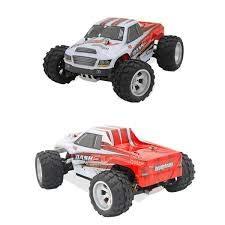 RC Monstertruck kaufen Monstertruck Bild 1: s-idee® 18108 A979-B RC Auto Buggy Monstertruck 1:18 Truck mit 2,4 GHz 70 km/h schnell WL*