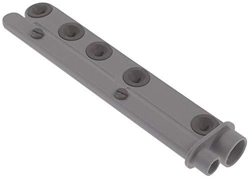 Elettrobar wasarm voor vaatwasser 7 sproeiers inbouw 27/17 mm EP boven/onderkant lengte 230mm 230mm naspoelarm 230mm 230mm 230mm
