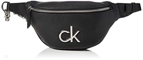 Calvin Klein Damen Crossovers, Schwarz, Einheitsgröße