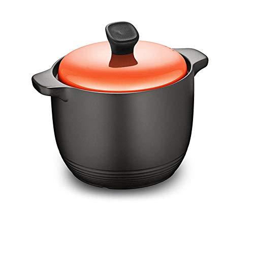 CeráMica Hot Pot Cazuela Olla De Sopa Gachas De Avena Resistentes Al Calor En Olla De Piedra, CeráMica-6L