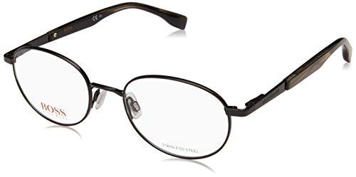 BOSS ORANGE BO0333-80719-50 Brillegestelle BO0333-80719-50 Rund Brillengestelle 50, Black
