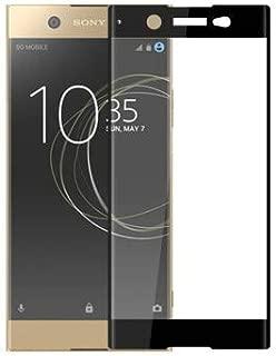 ZORE Sony Xperia XA1 ULTRA Tam Kaplayan Temperli Ekran Koruyucu SİYAH