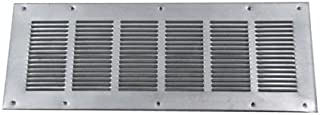 louvered foundation vent with screen