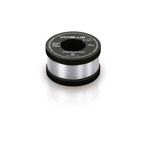 VIABLUE Silberlötzinn 1mm / 100g Spule Lötzinn