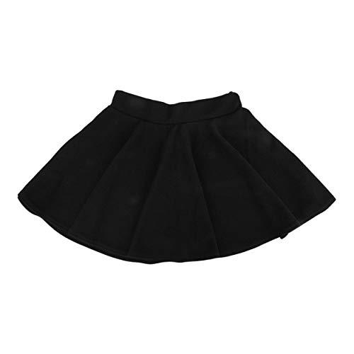 Lodenlli Fashion Cotton Blend Damen Stretch Taille Plain Skater Flared Plissee Minirock High Waist Kausal Röcke Kleid