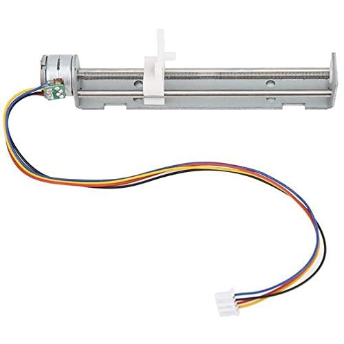 SHENYUAN Motor Stepper Motor Lineal con Slider 80mm 2-Fase DIY DIY PEGRA Máquina de Grabado láser