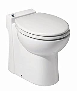 Build a half bathroom for residential applications Vertical pumping up to 9-Feet and 100-Feet horizontally Allows the connection of a sink. Toilet that uses a minimum amount of water Uses just 1-Gallon of water per flush Stylish toilet seat with chro...