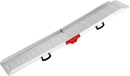 Karlie Autohunderampe Aluminium L: 183 cm B: 36 cm H: 8 cm grau Eigengewicht ca. 8,3 kg