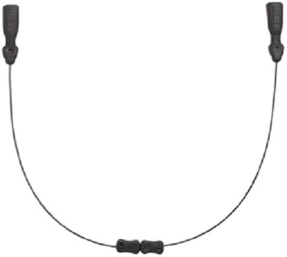 Costa Del Mar Costa C-Line Adjustable Retainer Leash, Black, 20in